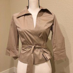 Express Stretch - wrap shirt - size 3-4